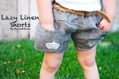 Shwin: Lazy Linen Shorts