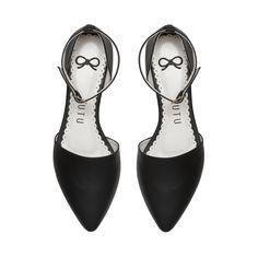 sapatilha bico fino preto, sapatilha bico fino tutu, sapatilha bico fino pulseira