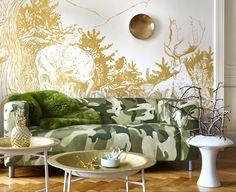 Army - IKEA Klippan Cover