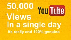 How to Get 50,000 FREE Youtube Views With Auto Refresh Plus FREE !!!