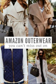 You've seen all of those amazing coats online but sometimes they just seem too expensive! Check out these Amazon options that won't break the bank! #outerwear #outerwearwomen #womensouterwear #outerwearfashion #winter #cuteouterwear #streetstyle #casual #fallfashion #fall #coats #jackets #fashionblogger #style #momstyle #ootd