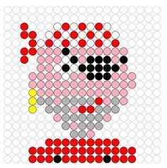 Pirate perler bead pattern