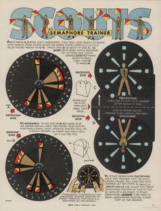 diy semaphore dial