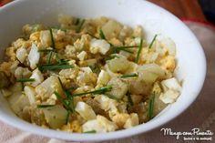 Salada de Chuchu com Ovo {Receita do Bem}, clique na imagem para ver a receita no Manga com Pimenta.