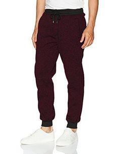 New Southpole Regular Fit Unisex Marled Fleece Joggers Sweat Pants M,L,XL,2XL