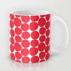 strange dots Mug