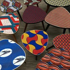 The furniture wax deco - Decoration For Home Cute Dorm Rooms, Cool Rooms, Chaise Formica, Deco Restaurant, African Home Decor, Furniture Wax, Blog Deco, African Design, Inspired Homes