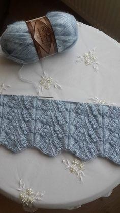 Wedding Jacket with Pistachio Wedding Jacket with Pistachio Baby Knitting Patterns, Lace Knitting Stitches, Knitting Charts, Stitch Patterns, Crochet Patterns, Knitting Videos, Easy Knitting, Knitting For Beginners, Crochet Motifs