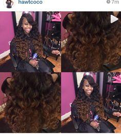 that color Aesthetic Sense, Goddess Hairstyles, Hair Shows, Love Hair, Every Woman, Hair Type, Natural Hair Styles, Hair Beauty, Sew