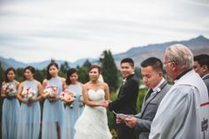 Garden Ceremony - Queenstown, New Zealand Wedding - Planning by Simply Perfect Weddings - Photos by Jim Pollard Goes Click