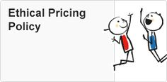 Giving the customer a reasonable price.