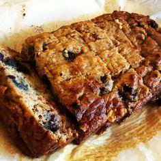 Blueberry Banana Loaf  @Cakes to Paleo