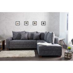 Moderne hoekbank Apartment antraciet - 35095