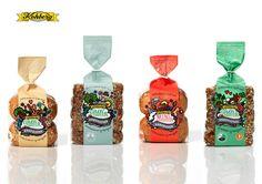 Kohburg Bread #Packaging Bread Packaging, Bakery Packaging, Cookie Packaging, Packaging Ideas, Bread N Butter, Package Design, Packing, Lovers, Branding