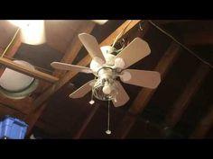 Casablanca Wailea Ceiling Fan with wicker blades - YouTube