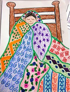 Klimt Quilt ... great to use with pattern during the wintry season