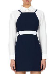 what-do-i-wear:  Kaal E SuktaeStripe Detailed Apron Dress