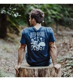 Tee-shirt homme DEEP RUGBY - La marque 64