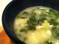 Quinoa Chowder with Spinach, Feta, and Scallions