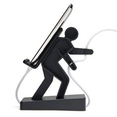 Here's a great selection of cheap cell phone holders and mobile phone stands for your desktop for sale at fabulously low online prices! Woodworking Shop, Woodworking Projects, Mobile Stand, Wood Shop Projects, Support Telephone, Iphone Stand, Iphone 6, Creation Deco, Phone Mount