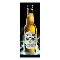 Oculto Beer bottle
