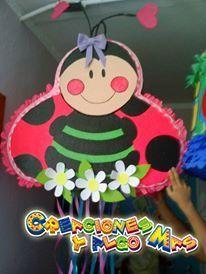 Resultado de imagen para piñata de mariquita