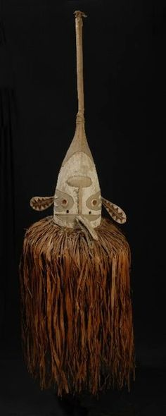 Mask, Papua; Museum of Ethnography