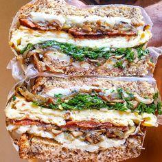 Chimmichurri Breakfast Sandwich