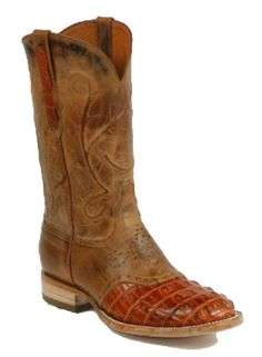 American Alligator Boots Style 157 Custom-Made by Black Jack Boots