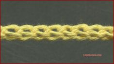Stitch Gallery & Glossary Episode Foundation Single Crochet - YARNutopia by Nadia Fuad Love Crochet, Learn To Crochet, Crochet Yarn, Crochet Hooks, Beginner Crochet Tutorial, Crochet Instructions, Crochet For Beginners, Crochet Tutorials, Foundation Single Crochet