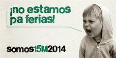 El 15 de MAYO VOLVEMOS A SOL / #MayoGlobal2014