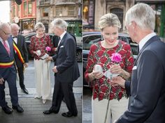 King Philippe and Queen Mathilde attends the 8th gala concert of the King Baudouin foundation organized by the East Flanders committee in Gent, Belgium on September 9, 2015