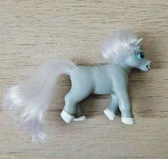 Grey magazine pony