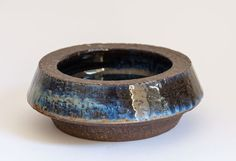 Your place to buy and sell all things handmade Deep Blue, Denmark, Stoneware, Sons, Rings For Men, Wedding Rings, Clay, Engagement Rings, Jewelry