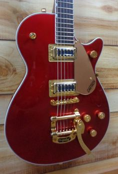 Gretsch® Limited Edition G5435TG Electromatic Pro Jet w/Bigsby Candy Apple Red #Gretsch