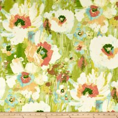 Swavelle/Mill Creek Indoor/Outdoor With Love Greenbrier Fabric