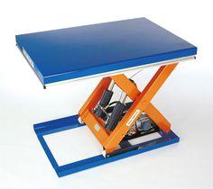 GTARDO.DE:  Hubtisch, 2t / 2000 kg, Maße 1300 x 1000 mm, Hub 820 mm, 1,50 kW 3 475,00 €
