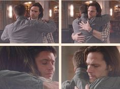 [SET OF GIFS] 8x20 Pac-Man Fever...so many feels. A winchester hug that nobody had to die for.
