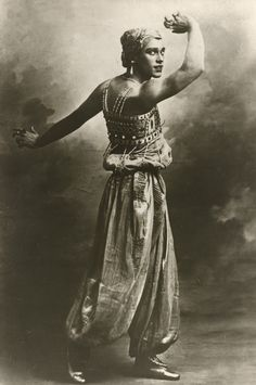 VASLAV NIJINSKY (1889-1950) Russian ballet dancer and choreographer. In 1909 he joined Diaghilev's Ballets Russes and became an international sensation. By 1917 Nijinsky began showing signs of mental illness and was diagnosed with schizophrenia. He spent the rest of his life in and out of psychiatric hospitals and asylums.