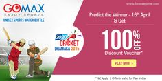 #Predict the winner b/w #Hyderabad & #Rajasthan on 16th April in 20-20 Cricket Dhamaka
