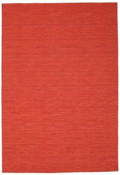 Kelim loom - Röd matta 200x300, 1785:-