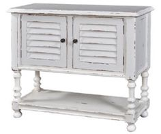 Orleans Cottage Small Vanity Sideboard