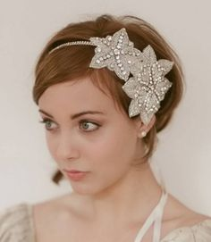 short wedding hairstyles with headband  WEDDING HAIRRRZ