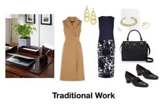 Traditional Work by celia-u on Polyvore featuring mode, Jaeger, Windsmoor, Munro American, Kate Spade, Gurhan and J.Crew