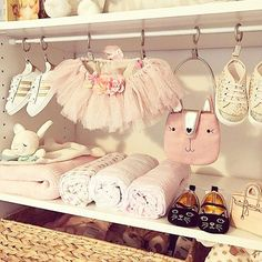 Nursery closet goals