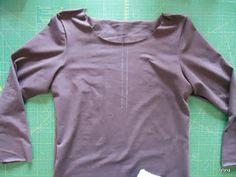 Tafana: Dámské tričko s knoflíčky návod