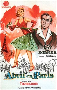 April in Paris movie poster.