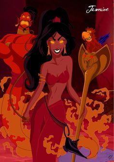 Twisted Disney Princesses deviantART | Twisted Disney Princesses – 9 Pics