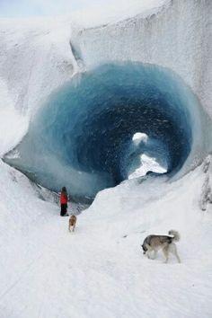 #icecaves #Alaska