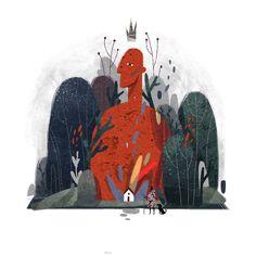 Ознакомьтесь с этим проектом @Behance: «Autumn illustration part 2» https://www.behance.net/gallery/58483743/Autumn-illustration-part-2